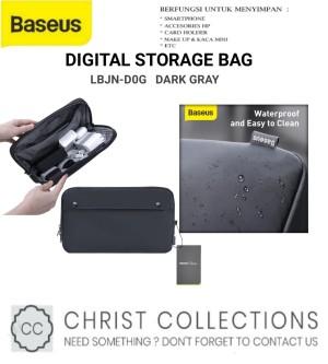 Harga baseus storage bag gadget organizer waterproof basics digital series   size | HARGALOKA.COM