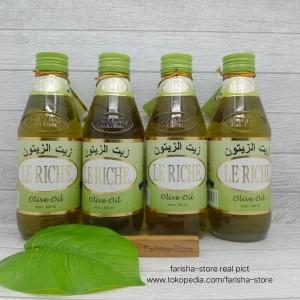 Harga minyak zaitun olive oil le riche | HARGALOKA.COM