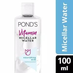 Harga ponds nourishing milk vitamin micellar water waterproof makeup   HARGALOKA.COM