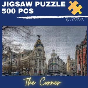 Harga jigsaw puzzle 500 pcs   the corner adult paper puzzle 46 x28 cm | HARGALOKA.COM