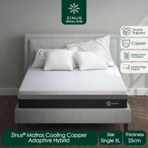 Harga zinus kasur 25 cm cooling cooper   ukuran single | HARGALOKA.COM