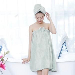 Harga baju mandi wanita model dress premium shower cap   | HARGALOKA.COM