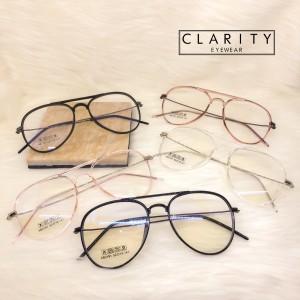 Harga frame kacamata elastis lentur pria wanita minus anti radiasi 2191   black normal | HARGALOKA.COM