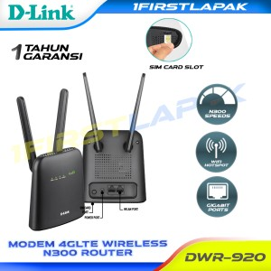 Harga d link modem 4g lte wireless router n300 dwr 920 | HARGALOKA.COM