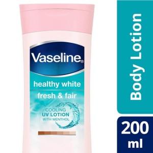 Harga vaseline healthy white fresh amp fair cooling uv gel lotion | HARGALOKA.COM