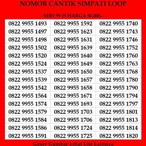 Harga nomor cantik simpati loop telkomsel 4g lte kartu perdana abab | HARGALOKA.COM