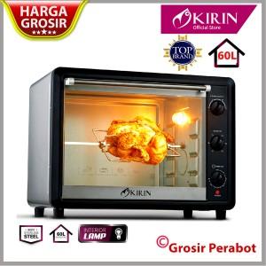Harga xtra besar kirin kbo 600ra oven listrik 60 l   2000 watt lampu  | HARGALOKA.COM