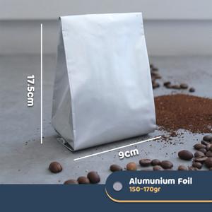 Harga standing pouch alumunium foil kemasan kopi   makanan 150 170 gram   min 25 | HARGALOKA.COM