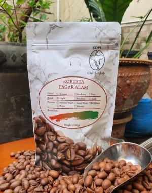 Harga biji bubuk kopi robusta pagar alam 250 gr robusta coffee   biji | HARGALOKA.COM