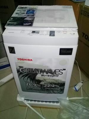 Harga mesin cuci toshiba 1 tabung 800an 7kg murah garansi khusus medan | HARGALOKA.COM