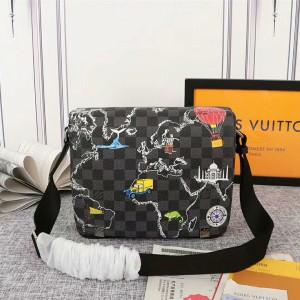 Harga tas fashion tas lv selempang import | HARGALOKA.COM