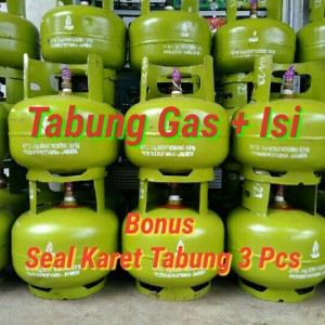 Harga tabung gas 3 kg isi full asli   HARGALOKA.COM