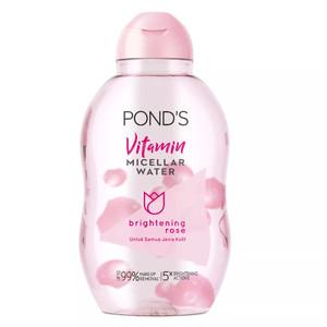 Harga ponds vitamin micellar water make up remover brightening rose   HARGALOKA.COM