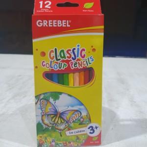 Harga greebel classic color pencil pensil warna 12 warna | HARGALOKA.COM