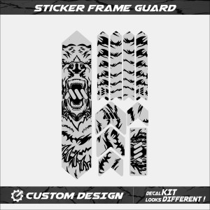 Harga sticker protector frame guard pelindung batang | HARGALOKA.COM