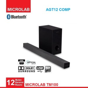 Harga microlab tm100 85 watt rms wireless bluetooth soundbar speaker | HARGALOKA.COM