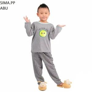 Harga setelan baju tidur anak cowok cewek lengan panjang sima pp murah   size | HARGALOKA.COM
