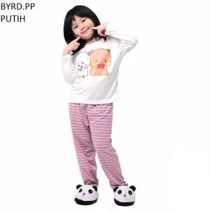 Harga setelan baju tidur anak cowok cewek lengan panjang byrd pp murah   size | HARGALOKA.COM