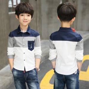 Harga eiffel kids pakaian kemeja anak pria cowok baju hem putra | HARGALOKA.COM