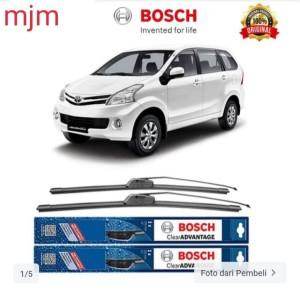 Harga Bosch Sepasang Wiper Mobil New Toyota Avanza Frameless Clear 21 14 Katalog.or.id