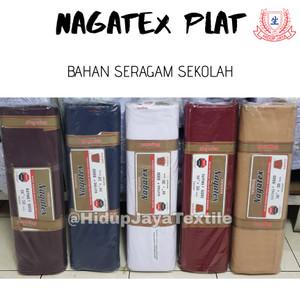 Harga kain nagatex plat seragam l 150 cm baju pramuka seragam sekolah | HARGALOKA.COM