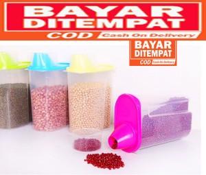 Harga dp001 toples makanan kucing burung hewan   HARGALOKA.COM