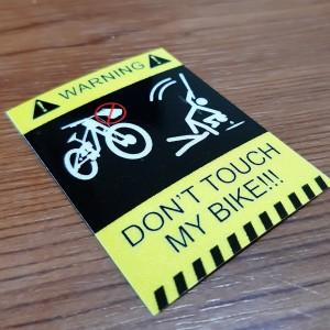 Harga bike dont touch c stiker | HARGALOKA.COM
