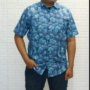 Harga kemeja casual pria lengan pendek kemeja formal not baju koko 31021   | HARGALOKA.COM