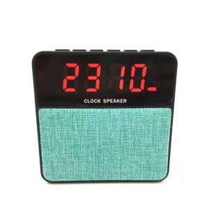 Harga speaker bluetooth setara jbl multifungsi alarm jam usb radio telp t1   biru | HARGALOKA.COM