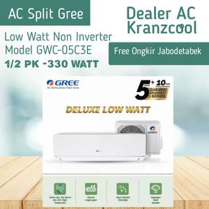 Harga promo ac split gree low watt non inverter 1 2   HARGALOKA.COM