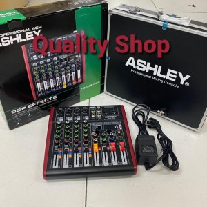 Harga mixer ashley 4 channel focus400 focus 400 plus box | HARGALOKA.COM