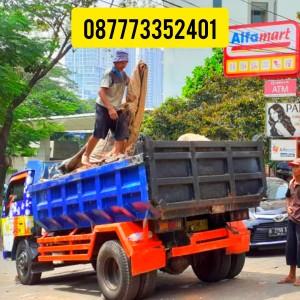 Harga 087773352401 jasa buang puing dan angkutan sampah proyek   truck | HARGALOKA.COM