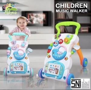 Harga baby walker musical sni alat bantu latih jalan bayi musik dan | HARGALOKA.COM