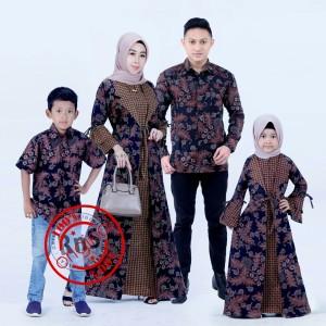 Harga batik keluarga couple batik mama papa dan anak batik seragam | HARGALOKA.COM