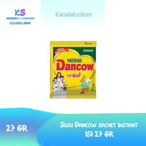 Harga promo  susu dancow sachet forti go rasa coklat dan vanilla 1 | HARGALOKA.COM