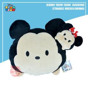 Harga boneka bantal disney tsum tsum cushion 2 stakable mickey amp | HARGALOKA.COM