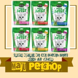 Info Cemilan Favorit Kucing Kit Cat Breath Bites Tuna Flavour 60gram Katalog.or.id