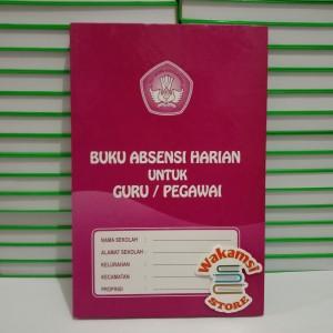 Harga buku absensi harian untuk guru pegawai paking bubble wrap | HARGALOKA.COM