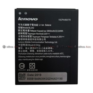 Harga baterai lenovo a6000 a 6000 bl242 bl 242 original batre batrai | HARGALOKA.COM