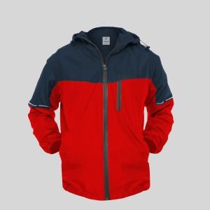Harga jaket motor pria anti angin premium foldable hoodie vinland evolved   merah | HARGALOKA.COM
