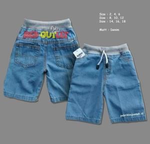Harga celana pendek anak jeans bahan soft jeans umur 0 8th harga promo   6 12 | HARGALOKA.COM