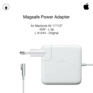 Harga adaptor charger original laptop apple macbook air 2012 2013 2014 | HARGALOKA.COM