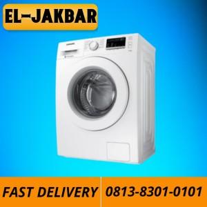 Harga promo mesin cuci samsung ww80j3230kw se front loading 8 kg | HARGALOKA.COM