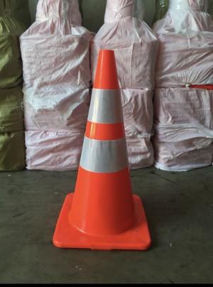 Info Khusus Gojek Instant Courier Traffic Cone Dasar Orange 70 Cm Premium Katalog.or.id