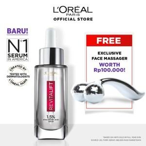 Harga loreal hyaluronic acid serum 30ml free face | HARGALOKA.COM