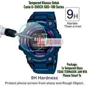 Harga anti gores kaca tempered glass for casio gshock g shock gbd 100 | HARGALOKA.COM