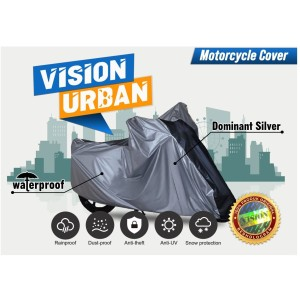 Harga cover motor vision urban bebek matic mio fino xeon skywave nuvo vega   dominan silver all | HARGALOKA.COM