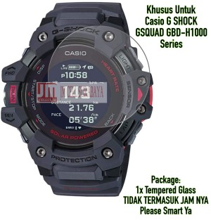 Harga anti gores kaca tempered glass for casio gshock g shock gbd h1000 | HARGALOKA.COM