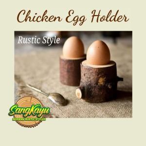 Harga tempat telur ayam rustic chicken egg holder dekorasi properti | HARGALOKA.COM