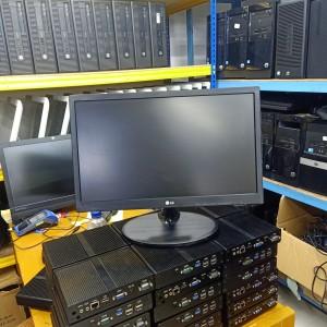 Harga monitor led lg 19 inch wide scren barang like | HARGALOKA.COM